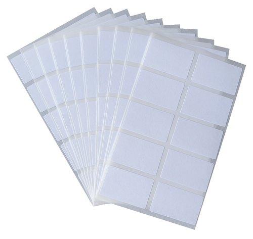 Gefrieretiketten selbstklebend 180 Stück weiß 0086